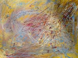 "Inner Peace - 36"" x 48"", Copyright 2013"