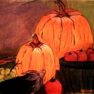 Harvest - Pastel on Paper, 24 x 20
