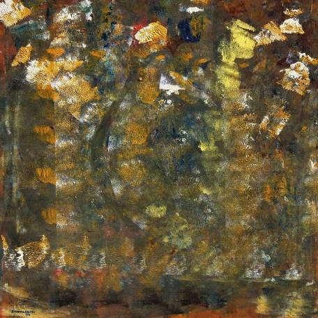 Peace - $3,200, Acrylic and Enamel on Canvas, 30 x 30