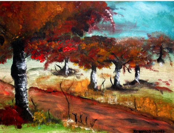 Positive Trail - Acrylic on Canvas, 24 x 20