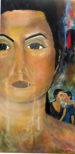 Shock - Acrylic on Canvas, 48 x 36